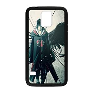 Anime Cool Naruto Uchiha Sasuke Custom Design Samsung Galaxy S5 Hard Case Cover phone Cases Covers Laser Technology