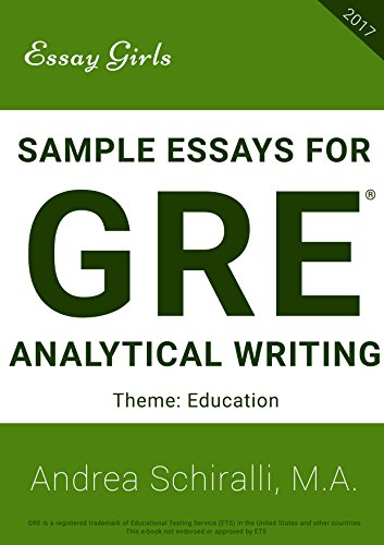Public Health Essay Sample Essays For Gre  Analytical Writing Education Sample Essays  For Gre Literary Essay Thesis Examples also Ap English Essays Amazoncom Sample Essays For Gre  Analytical Writing  English Sample Essays