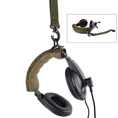 LIVIQILY Advanced Modular Headset Cover Headband for General Tactical Earmuffs Microphone Hunting Shooting Headphone Cover (Army Green)
