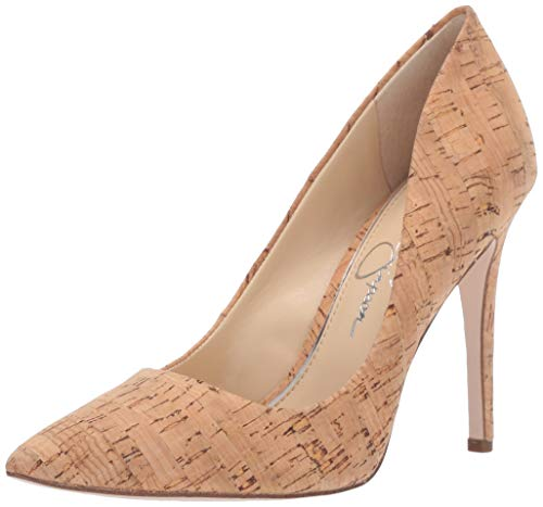 Jessica Simpson Women's PRAYLEE Shoe, Natural, 9.5 M US