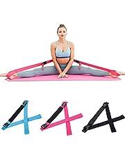 tanzdunsje Leg Stretcher Bands Flexibility Stretcher Straps fit for Dance Ballet Soft Opening Exercise Gym Training Tensile Yoga Taekwondo Martial Arts