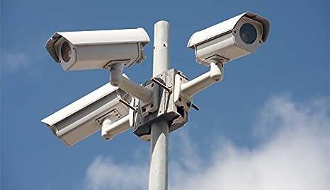 A4 21 x 29,7 cm Impermeabile ATTENZIONE! Segnaletica Cartello Videosorveglianza in Pvc Sicurezza e Privacy