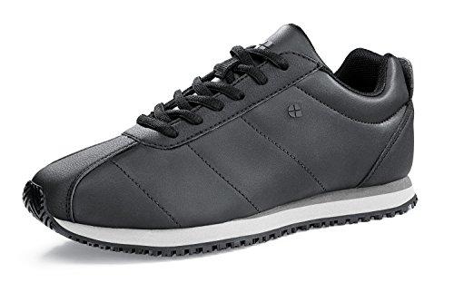 Shoes For Crews - Zapatillas de Material Sintético para mujer negro Schwarz (Schwarz)