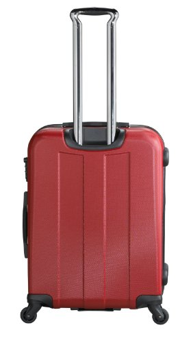 Heys - Crown Elite V Rot Trolley mit 4 Rollen Gross