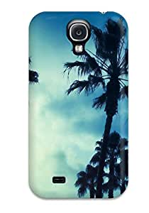 Durable Case For The Galaxy S4- Eco-friendly Retail Packaging(palm Earth)