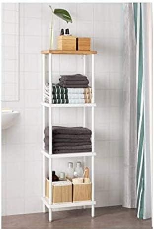 DYNAN IKEA Regal in weiß; (40x27x136cm): : Küche