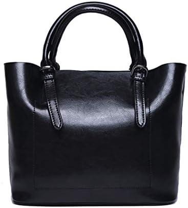 女性のハンドバッグ、ファッショナブルなレジャー女性ハンドバッグ革シンプルでスタイリッシュショルダーバッグ、仕事・宴会クロスボディ女性バッグ-4 色