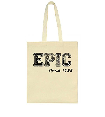 Born Your Bag You Design 1988 Birthday Tote Awesome Epic Were Celebrate The Gift Since wZqPx68g