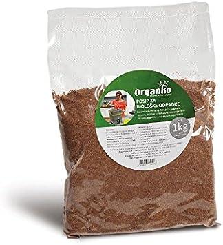Skaza - mind your eco bokashi orgánico compostador Negro/Naranja ...