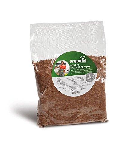 Skaza - mind your eco bokashi orgánico compostador Negro/Naranja