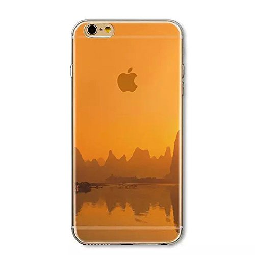 Iphone 6 Plus Case  Boomy   Beautiful Scenery Series Design Transparent Acrylic Pc Back And Tpu Edges Hybrid Protective Case Cover For Iphone 6 Plus 5 5 Inch  Beautiful Dream Scenery Pattern   Color 4
