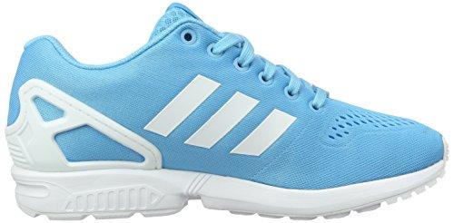 Cyan Bright ZX White Ftwr Sneaker Em Bright Colori Ciano Chiaro Flux Vari adidas Uomo Cyan Bianco Zq6WnwSAF