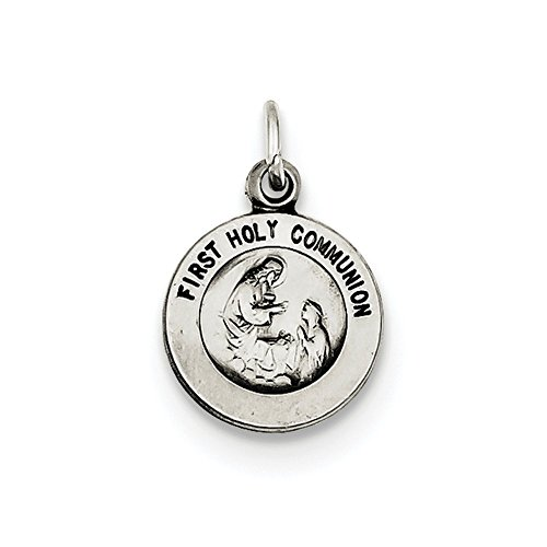 Sterling Silver Antiqued First Holy Communion ()