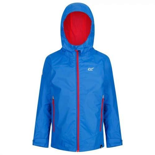 (Regatta Allcrest IV Waterproof Kids Jacket - SS19-11-12 Years - Blue )