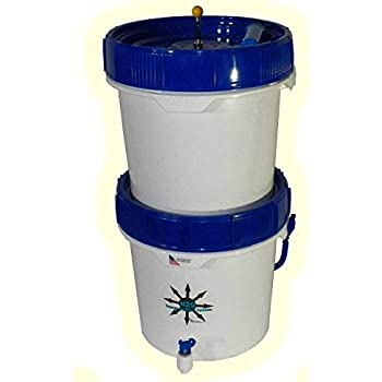 SHTFandGO Gravity Well Ultra Water Filter Purifier 9000+ Gallons with 3 Black Candle Filters