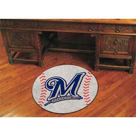 Fan Mats Milwaukee Brewers Baseball Rug, 29