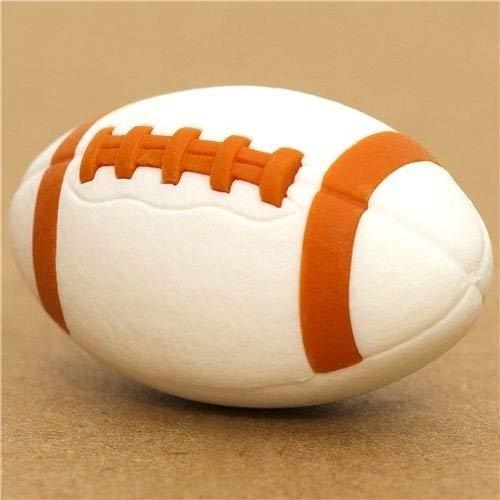 Goma de borrar, balón blanco de fútbol americano: Amazon.es ...
