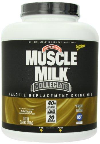 Muscle Milk CytoSport Collegiate Calorie remplacement Drink Mix, chocolat, 5,29 LB, Récipient