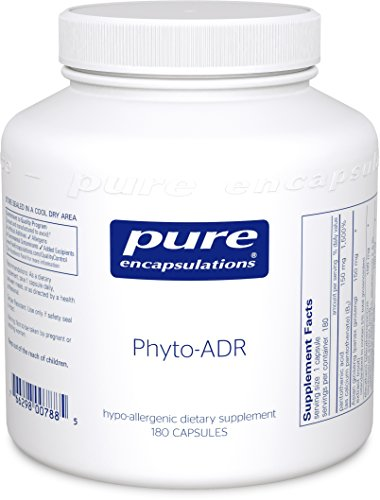 Pure Encapsulations - Phyto-ADR - Hypoallergenic Adrenal Support Formula for Vegetarians* - 180 Capsules by Pure Encapsulations
