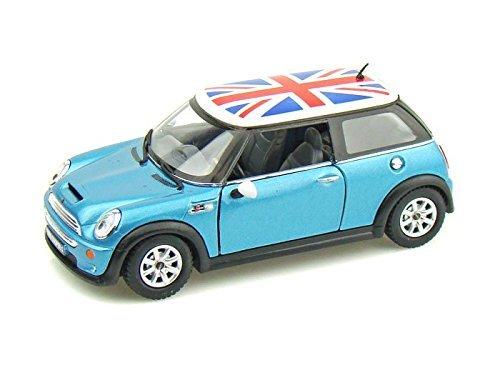 Mini Cooper S w/British Flag 1/28 Blue ()