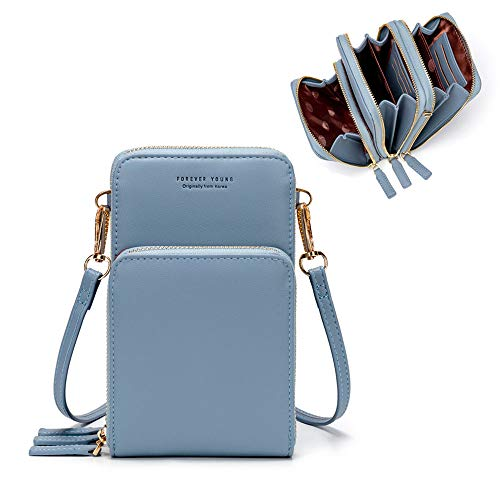 Small Crossbody Cellphone Shoulder Bag for Women,Smartphone Wallet Purse for Shopping