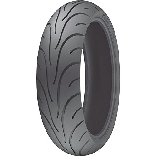 (Michelin Pilot Road 2 Radial Motorcycle Tire Sport/Touring Rear 180/55R17 73W)