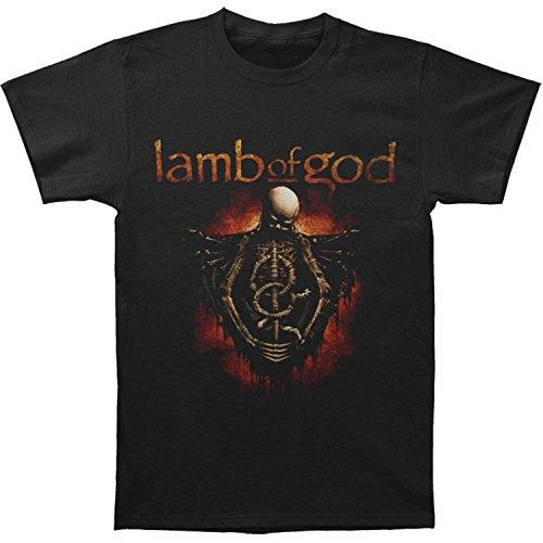 Metal Band Shirt - Lamb Of God Men's Torso T-shirt Medium Black