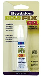 Beadalon Bead Fix Gel Adhesive 3 Grams