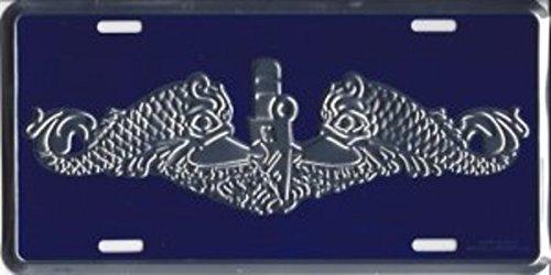 Mitchell Proffitt Navy Submarine Dolphin Silver License -