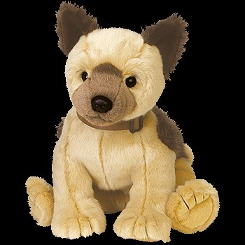 - TY Classic Plush - SCHULTZIE the Dog