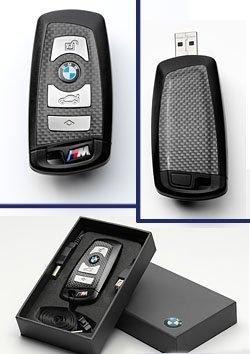 bmw-carbon-m-sport-genuine-usb-key-stick-lanyard-8-gb-of-memory-new