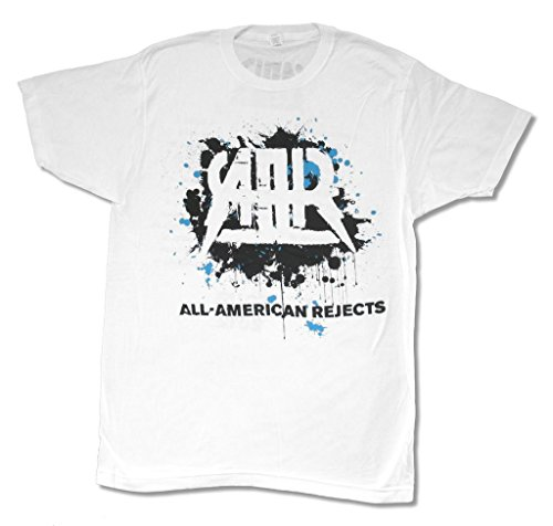 All American Rejects Splatter 2012 Tour White T Shirt (XL)