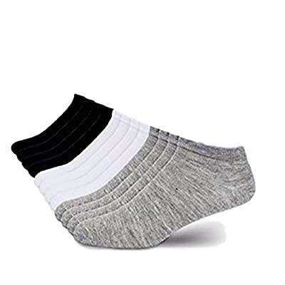 I&S Women's 12 Pack Low Cut No Show Athletic Socks - Women's Socks Size 9-11 (Set of 12 (Asst) at Women's Clothing store
