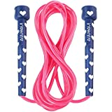 Inventiv Kids Jump Rope, Cute Colorful Designs, 9ft Adjustable Length, Quality PVC, Suitable for Children, Adults, Fitness, or Play