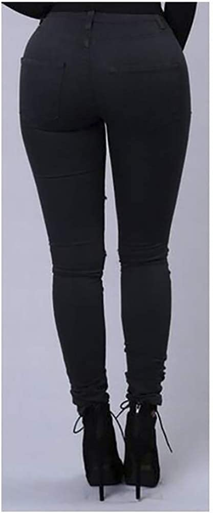 Popoye Womens Ripped Skinny Jeans