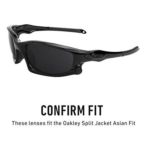 Split Pour Verres MirrorshieldPolarisés Jacket De Titanium — Asian Fit Options Plusieurs Rechange Oakley dCsBhQrxt
