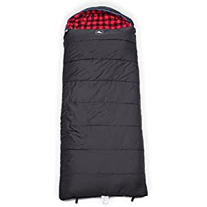 All Season Hooded XL Sleeping Bag With Compression Sack Perfect Compression Sleeping Bag For Backpacking Camping Big And Tall Sleeping Bag Fits Adults Up To 66 Waterproof Large Sleeping Bag