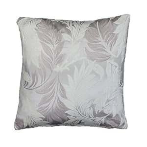 Paoletti Monteverdi - Funda para cojín, diseño floral, 45 x 45 cm, color gris