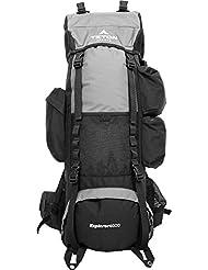 TETON Sports Explorer 4000 Internal Frame Backpack, Metallic Silver