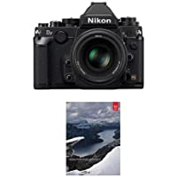 Nikon Df FX-format Digital SLR Camera Kit with AF-S NIKKOR 50mm f/1.8G Special Edition Lens, Black - Bundle with Adobe Photoshop Lightroom 6