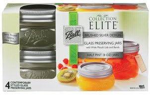 Ball Mason Half Pint Jars