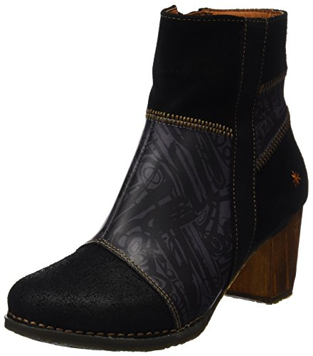 Art Womens 0468 Salzburg Leather Boots Multi Black Box