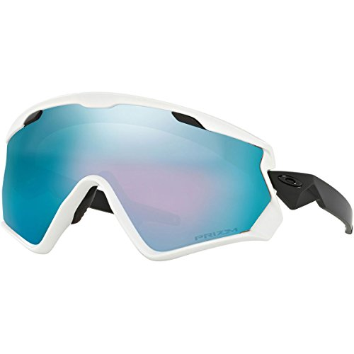 Oakley Men's Windjacket 2.0 Sunglasses,OS,Matte White/Prizm Snow - 2.0 Wind Jacket
