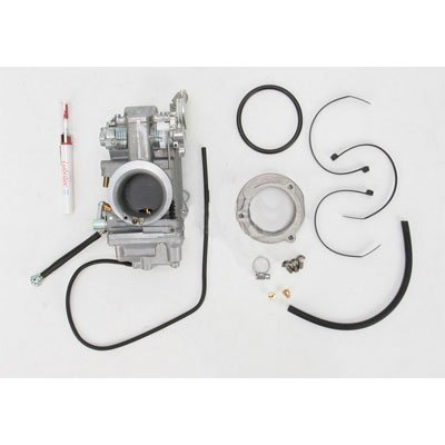 Mikuni 42-11 HSR42 Smoothbore Carburetor Easy Kit for Harley-Davidson 1994-06 Sportster (C01007466)