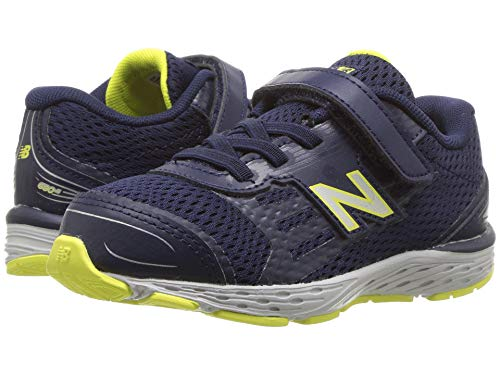 [new balance(ニューバランス)] メンズランニングシューズ?スニーカー?靴 KA680v5I (Infant/Toddler) Pigment/Limeade 6 Toddler (13.5cm) W