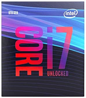 Intel Core i7-9700K Desktop Processor 8 Cores as much as 4.9 GHz Turbo unlocked LGA1151 300 Series 95W