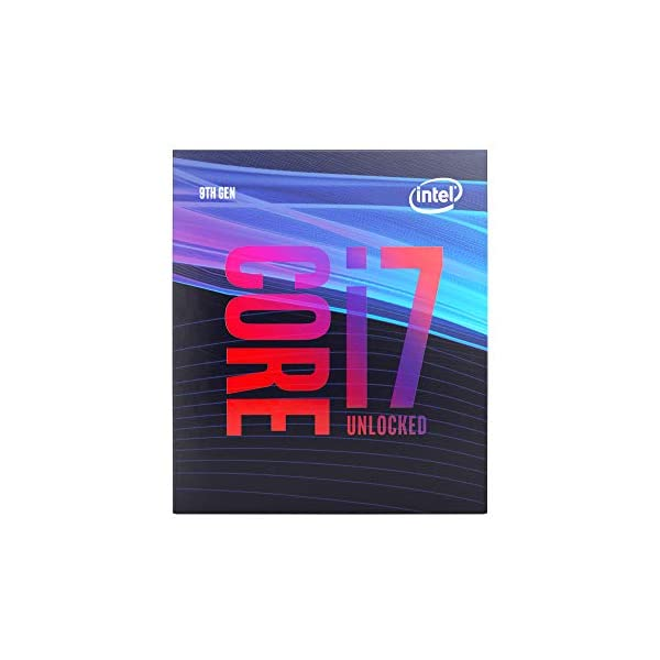 Intel BX80684I79700K Core i7-9700K Desktop Processor 8 Cores up to 4.9 GHz Turbo Unlocked LGA1151 300 Series 95W