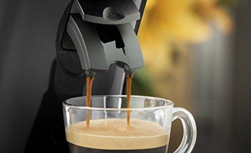 Philips HD6554/68 Senseo Kaffeepadmaschine, schwarz 5