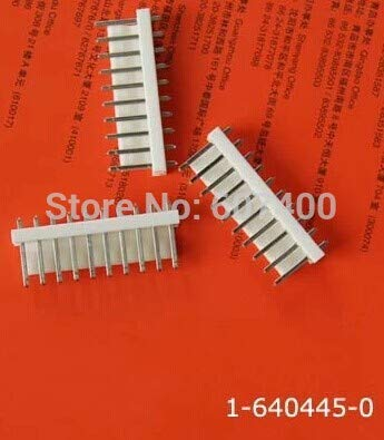 Tin 0.156 - Gimax 1-640445-0 CONN HEADER VERT 10POS .156 TIN TIN TYCO housings TE AMP housings connectors terminals 100% new and original parts