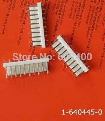 0.156 Tin - Gimax 1-640445-0 CONN HEADER VERT 10POS .156 TIN TIN TYCO housings TE AMP housings connectors terminals 100% new and original parts